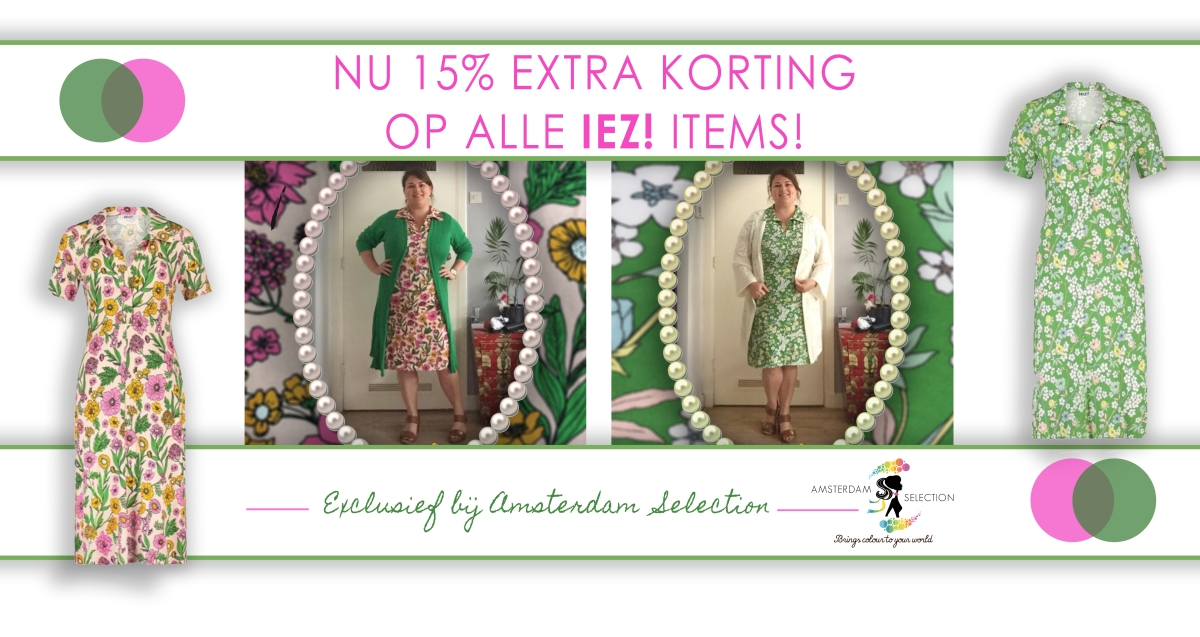 'At ease' met IEZ! bij Amsterdam Selection!