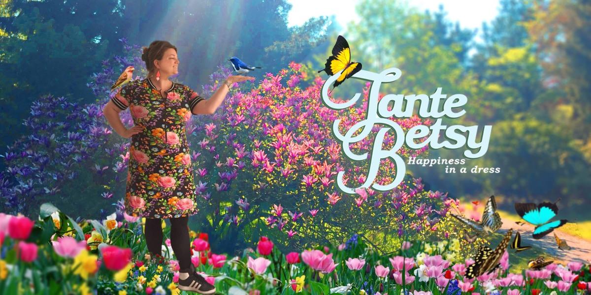 Tante Betsy Pepper Butterfly 'n Roses: geef je garderobe een oppepper!