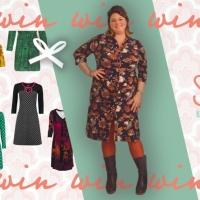 Vier de herfst met mooie verenprints bij Solvejg en WIN een jurkje naar keuze! ❥
